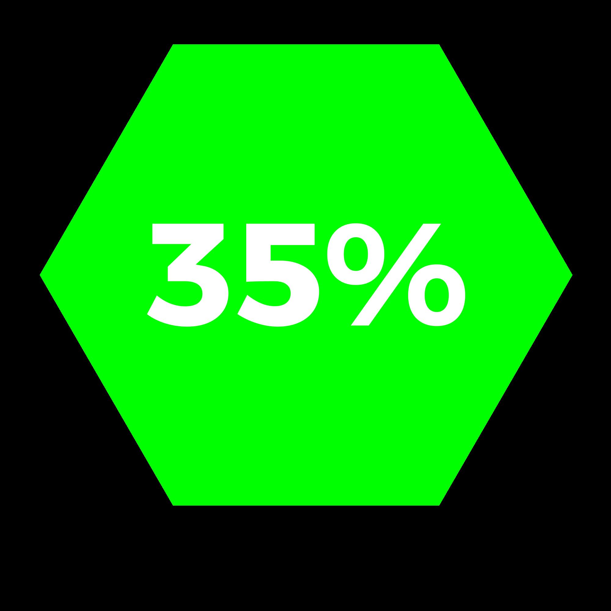 35% acabamentos